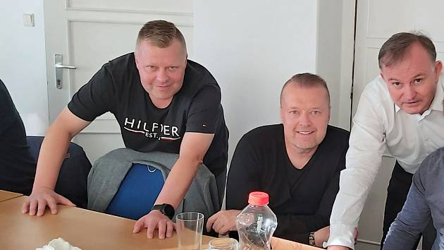 Libor Turek (vlevo)