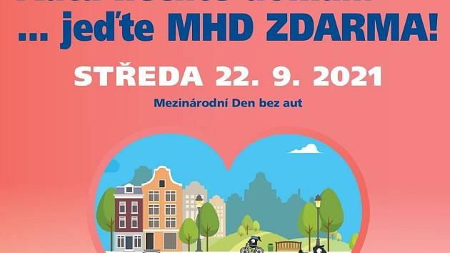 Ve středu 22. září bude v Ústí nad Labem Den bez aut a MHD zdarma.