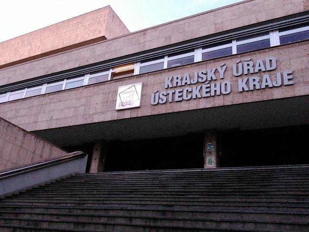 Krajský úřad Ústeckého kraje.