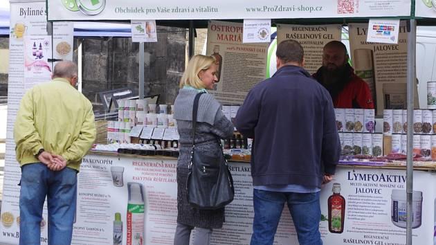 Zelená lékárna nabízí své produkty na farmářském trhu u OC Forum každý čtvrtek.