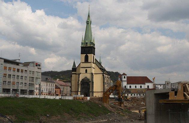 Ústecký kostel Nanebevzetí Panny Marie
