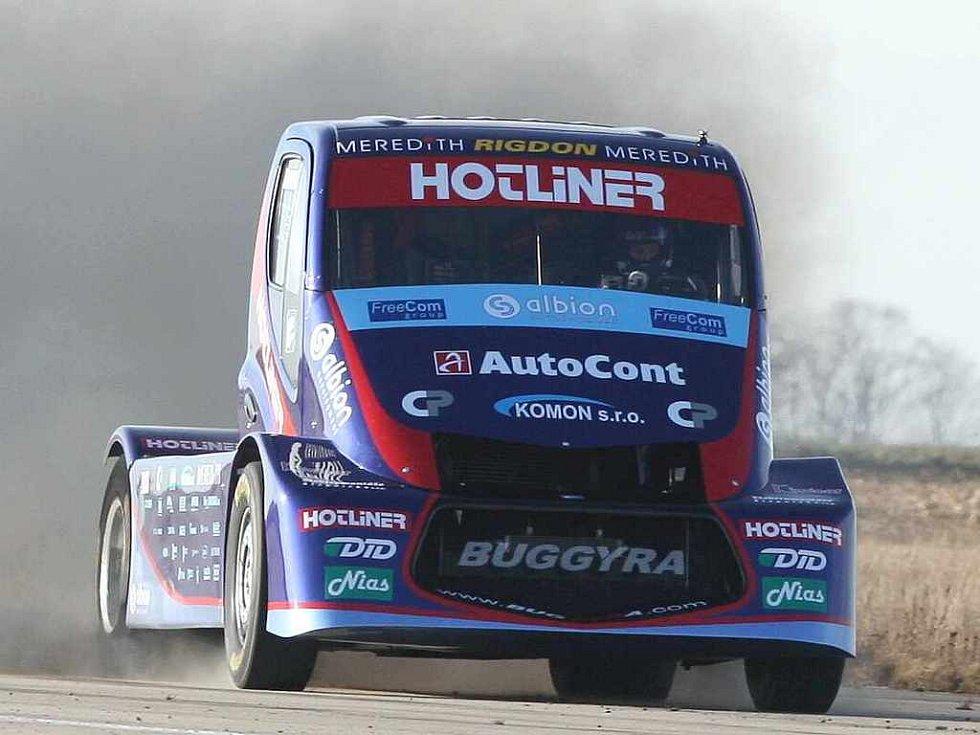 Roudnická trucková stáj Buggyra překonala další světový rekord