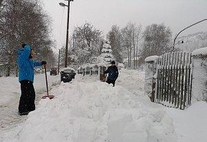 Sněhová kalamita, 10. 1. 2019