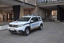 Městská policie Ústí nad Labem dnes převzala nový vůz Dacia Duster.