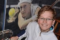 Mládežnický tenis pokračoval na Bukově velkým turnajem mladších žáků.