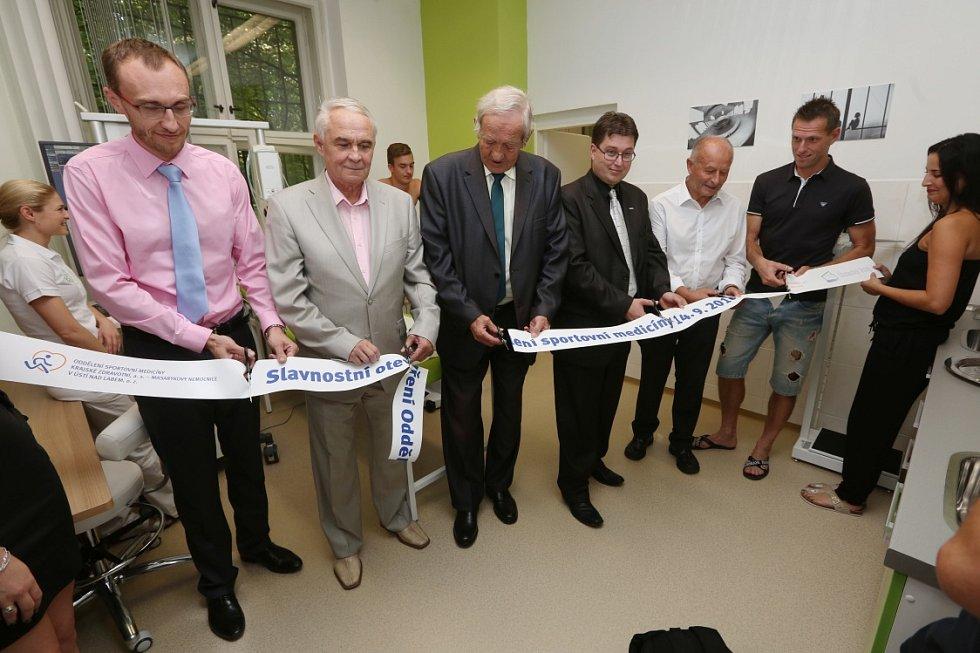 Oddělení sportovní medicíny otevřela Krajská zdravotní v ústecké Masarykově nemocnici.
