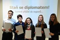 Žáci ZŠ Vojnovičova se stali diplomaty
