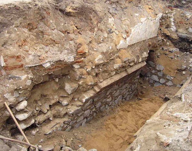 Archeologický výzkum v centru Ústí