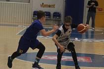 Sport basketbal Národní finále U 12 Ústí n. L. - NH Ostrava