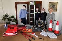 Střekovští dobrovolní hasiči mají nové vybavení.