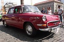 Krásná historická auta se sjela do Ústí nad Labem