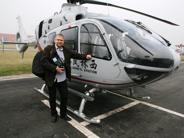 Prostřednictvím filmových dokumentů ústeckého letce a publicisty Miroslava Orose se budou učit amatérští letci v Číně.