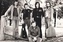 Vladimír Mišík s kapelou Etc...v roce 1980.
