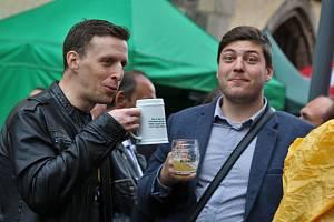 IX. ročník Ústeckého pivního jarmarku.
