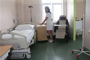Krajská zdravotní má na ústecké onkologii nový rodinný pokoj paliativní péče