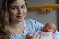 Eliška Šarochová se narodila v ústecké porodnici 23.10.2016 (4.44) Petře Šarochové. Měřila 48 cm, vážila 3,15 kg.