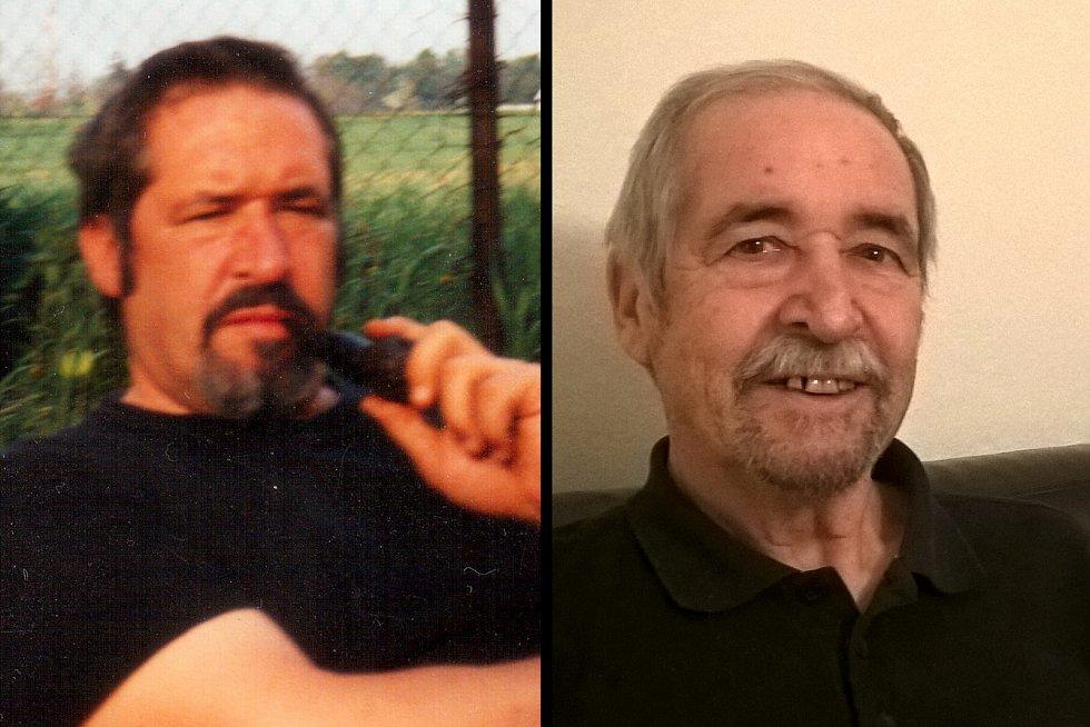 Vojtěch Neumahr před deseti lety (vlevo) a před pár měsíci.