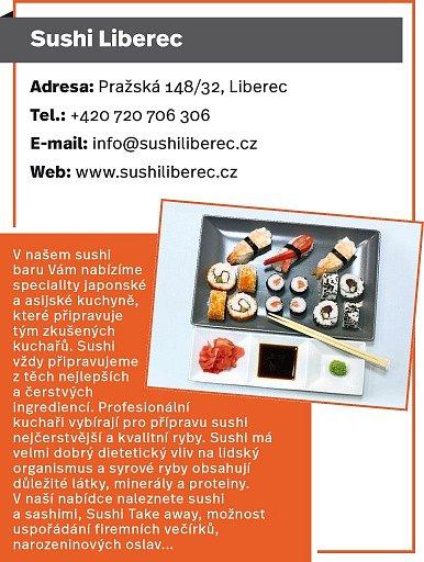 Sushi Liberec