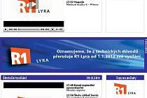 Ukončení provozu je avizováno také na webových stránkách televize.