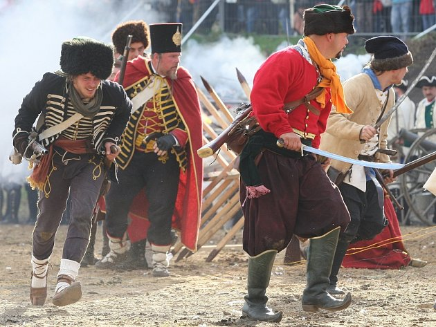 Tito  vojáci císařovny  se  na Ústecku během sedmileté války nacházeli nejčastěji.