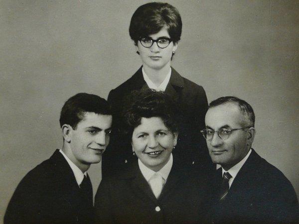 Rodina Cecilie Braunové - Kleinové.