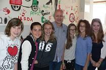 Žáci hostili italské školáky.