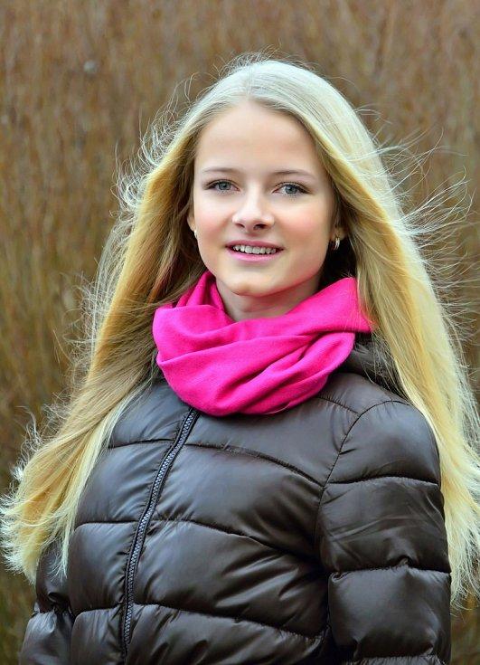 Ivana Bebeláková, 13 let.