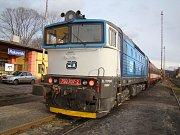 Lokomotivy a hnací vozidla mají svá jména - Brejlovec.