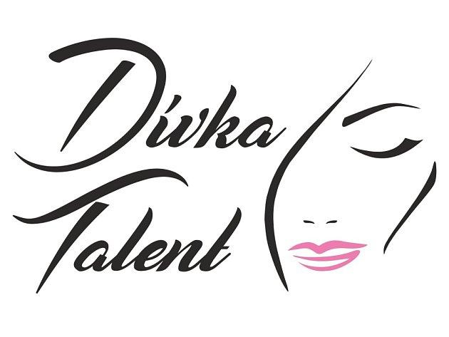 Logo soutěže Dívka Talent 2017.