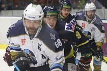 Kladno - Ústí, Jaromír Jágr po více než roce hrál soutěžní zápas v Kladně. Foto: Antonín Vydra