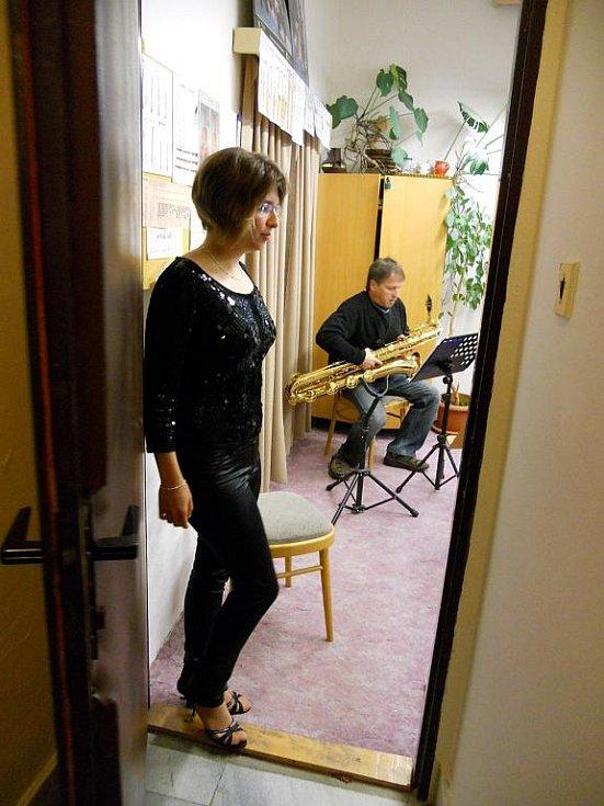 Barbora Dolejší je nejen hráčskou ozdobou swingového kvarteta.