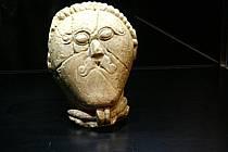 Nejcennějším dokladem keltské kultury u nás je hlava z Mšeckých Žehrovic.