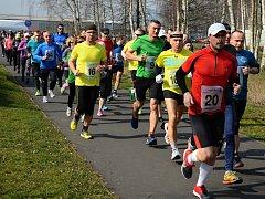 Závodu ve Svádově se účastnilo 133 běžců.
