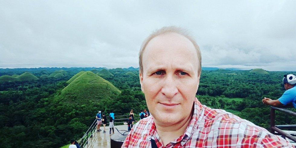 Vít Lukáš na Filipínách