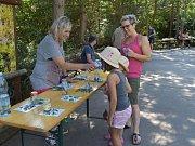 Akce Netradiční chutě pralesa v ústecké zoo.