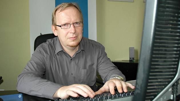 Marek Korbélyi, ředitel Základní umělecké školy Evy Randové.