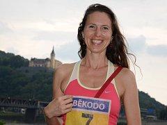 Veronika Vágnerová. Amatérskou běžkyni přivedl k vytrvalostnímu běhu kamarád.