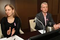 Jana Bohuňková a Martin Hausenblas (oba PRO! Ústí).