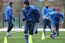 Fotbalisté Ústí už týden pilně trénují na jarní část Národní ligy.