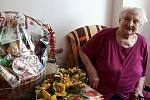 Paní Berta Haskeyová oslavila 102 let.