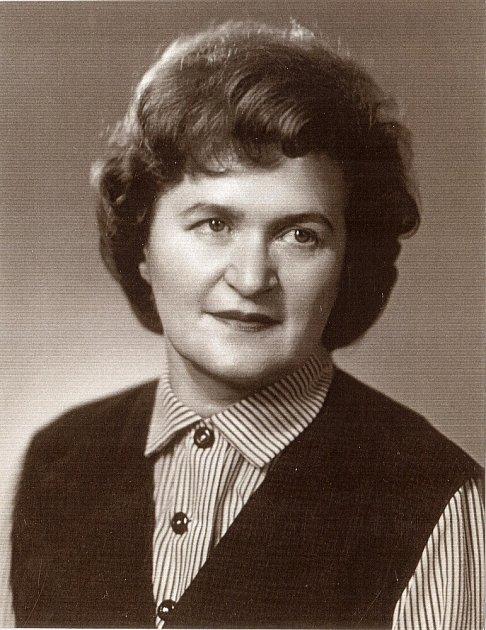 Profesorka Jitka Švábová.
