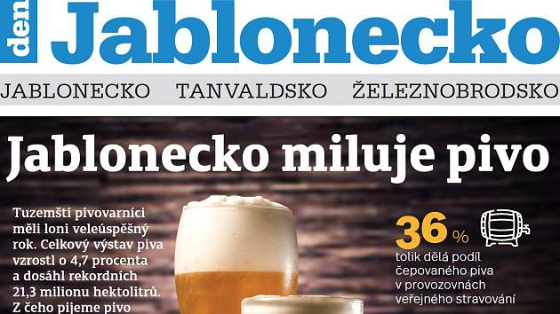 Nové vydání Týdeníku Jablonecko
