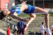 Výškařka Oldřiška Marešová překonala v Ústí nad Labem laťku ve výšce 188 centimetrů. B limit pro mistrovství světa v Jižní Koreji se jí však skočit nepodařilo.