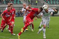 Ústečtí fotbalisté naposledy prohráli v Karviné 0:1. V sobotu doma změří síly se Zlínem.