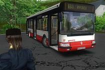 Ústecká mapa pro autobusový simulátor odpovídá skutečnosti. Hráč usedne za volant autobusu Renault/Karosa Citybus 12m a musí cestující dovést po lince 19 do Ryjic.