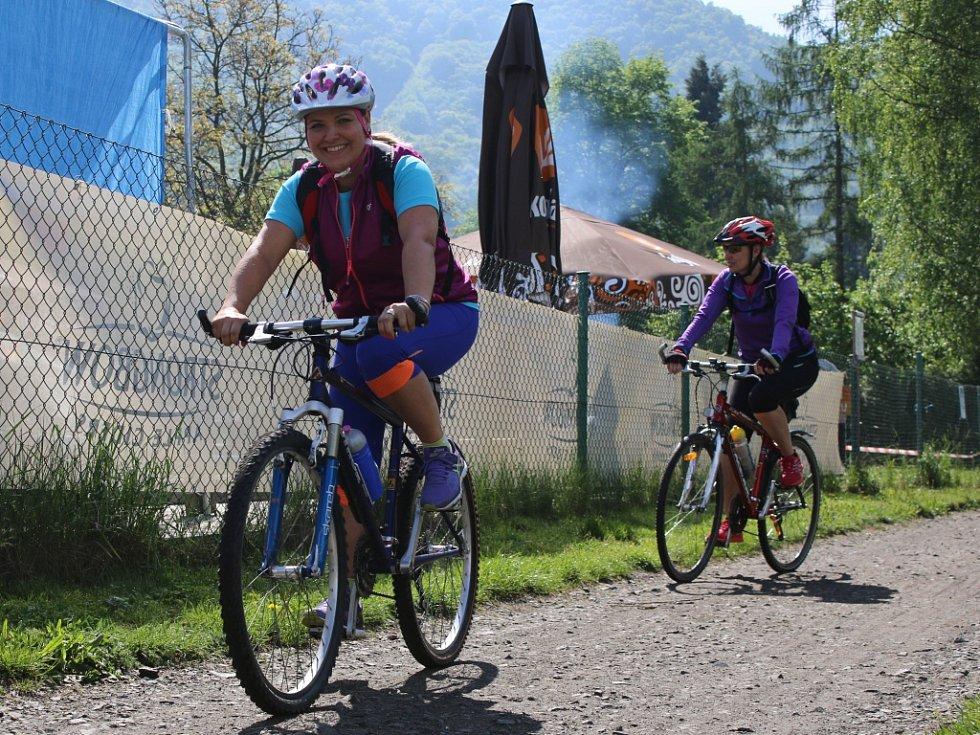 Slavnostní otevření Labské stezky pro cyklisty.