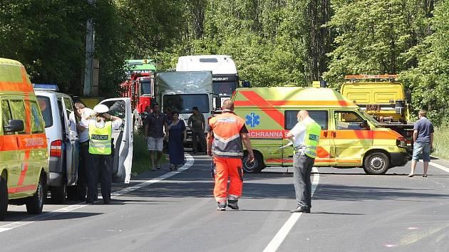 Na místo ihned vyjeli kolegové záchranáři se sanitkou