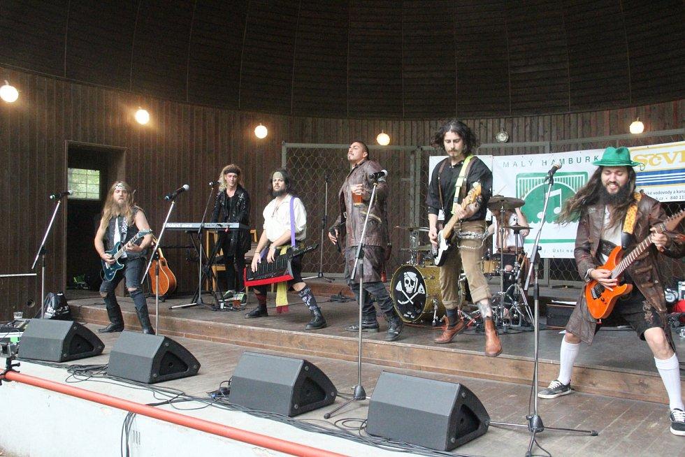 Koncert kapely Lagerstein v Ústí nad Labem