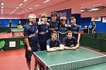 Krajské přebory mládeže ve stolním tenisu