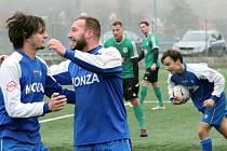 Fotbalisté Hostovic ilustrační foto